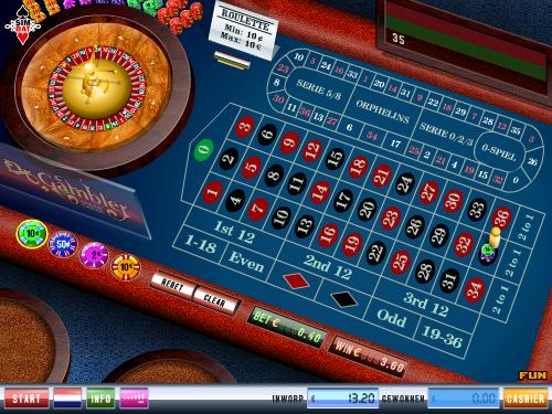 Roulette gokspel bij DR Gambler